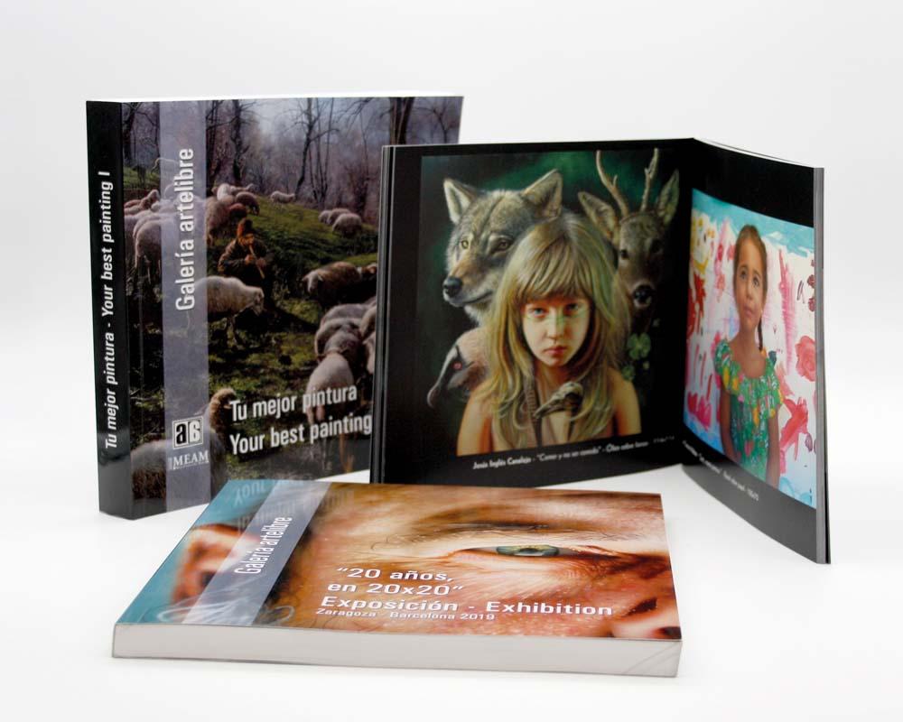 diseño de catálogos en huella digital