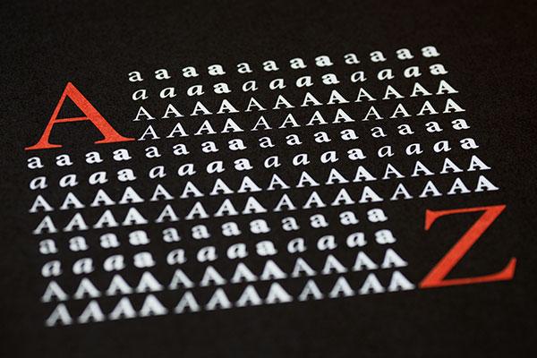 tipografías para imprimir